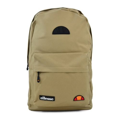 ELL953LT ELLESSE RUBBER BADGE BACKPACK MACADAMIA V1