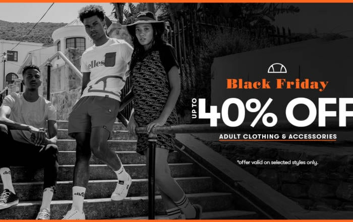 ellesse Black Friday Blog Header
