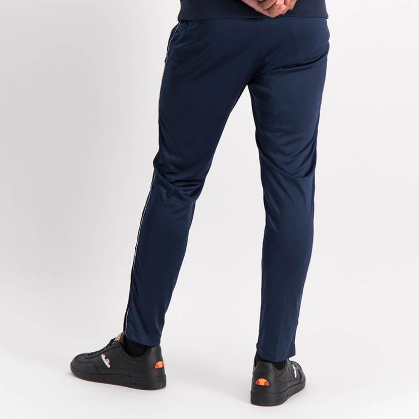ELL1035DB Slim Leg Tape Detail Track Pants Blue ELS20 0143B V4