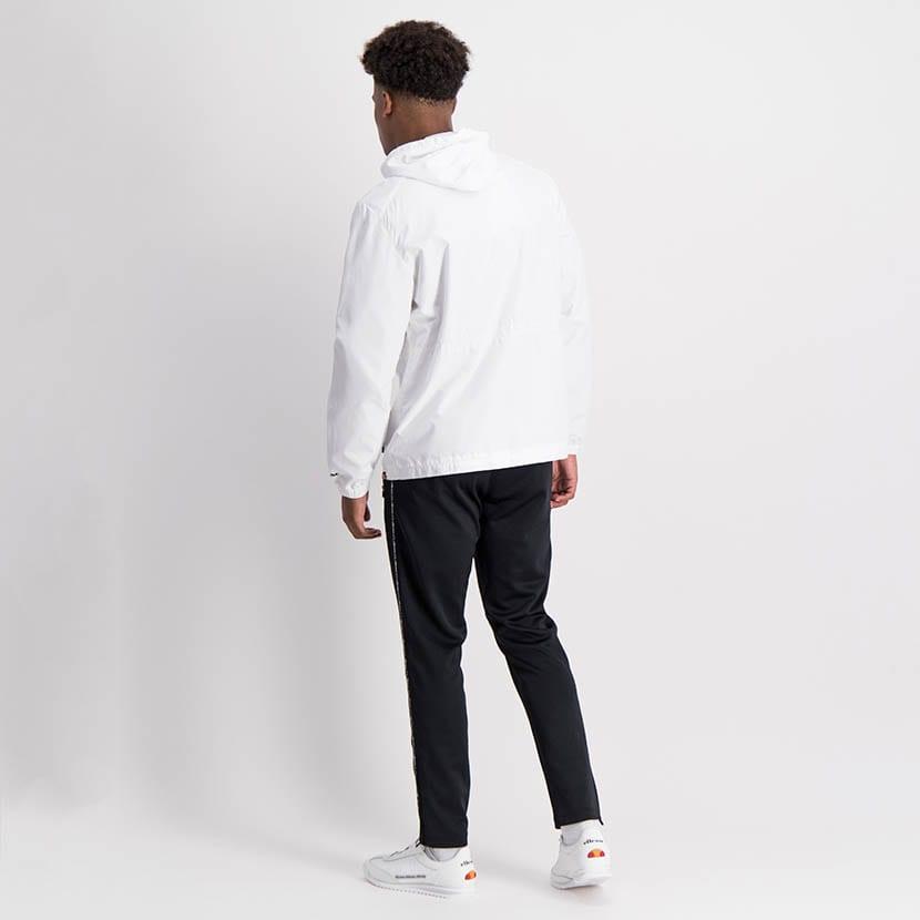 ELL1204W Zip Through Fashion Windbreaker White ELW21 072A V5