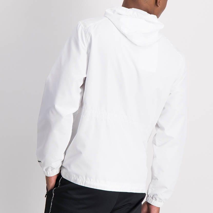 ELL1204W Zip Through Fashion Windbreaker White ELW21 072A V7