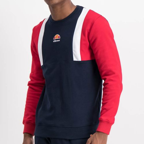 ELL1221DB-Color-Block-Sweat-Top-Blue-Red-ELW21-021A-V1
