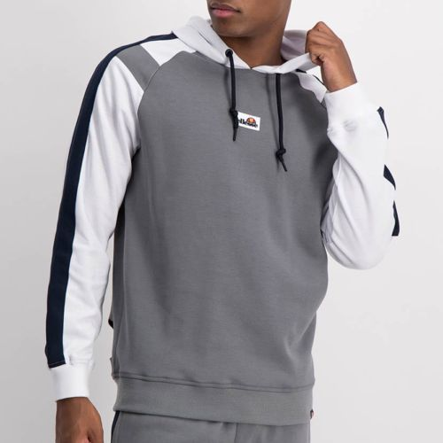 ELL1225CH-Split-Col-Hoody-Sweat-Top-Charcoal-Blue-White-ELW21-034A-V1