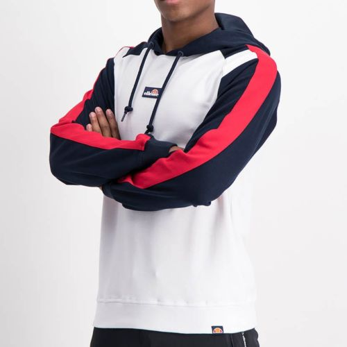 ELL1225W-Split-Col-Hoody-Sweat-Top-White-Red-Blue-ELW21-034A-V2