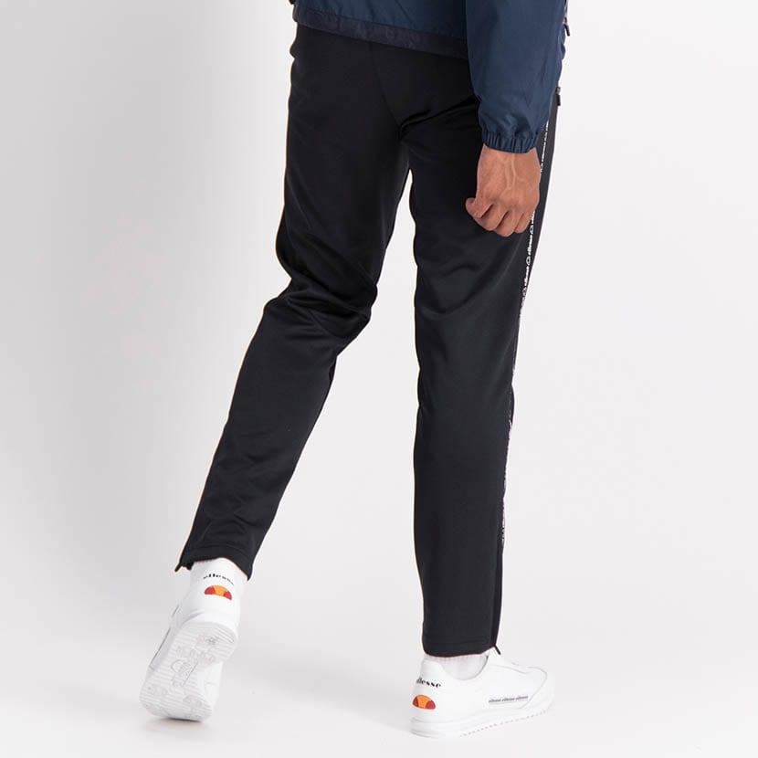 ELL1238B Side Leg Thin Tape Track Pants Black ELW21 049B V4