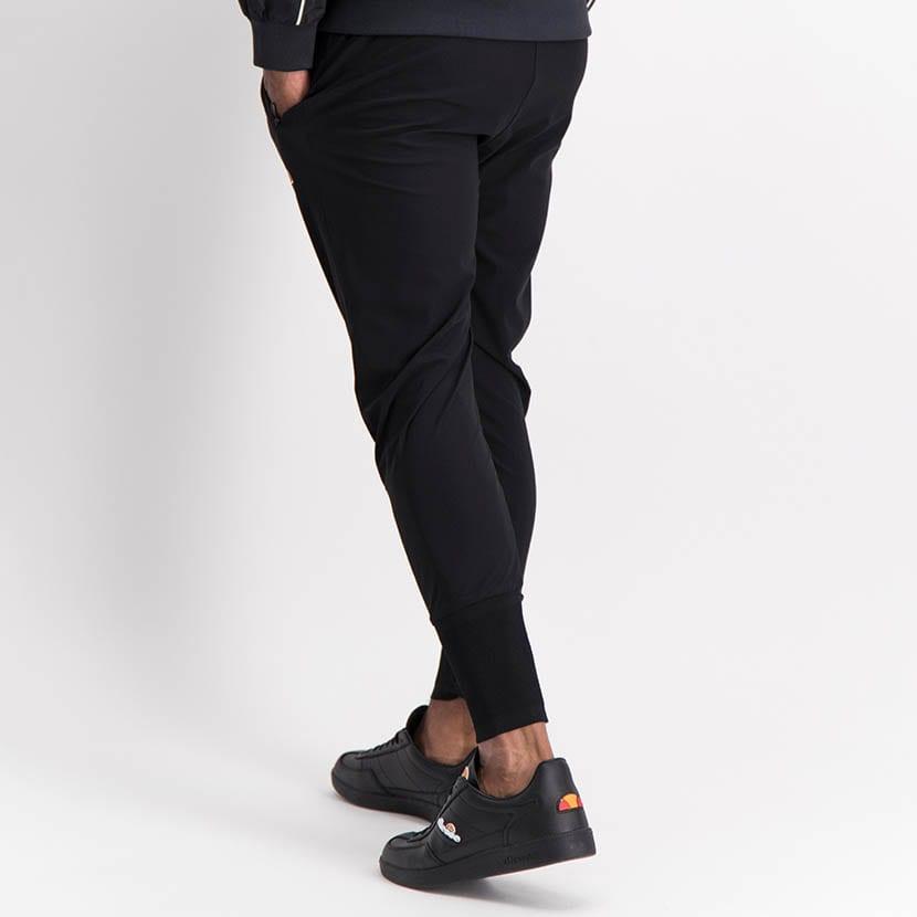 ELL1245B Slim Leg Print Track Pants Black ELW21 155B V3