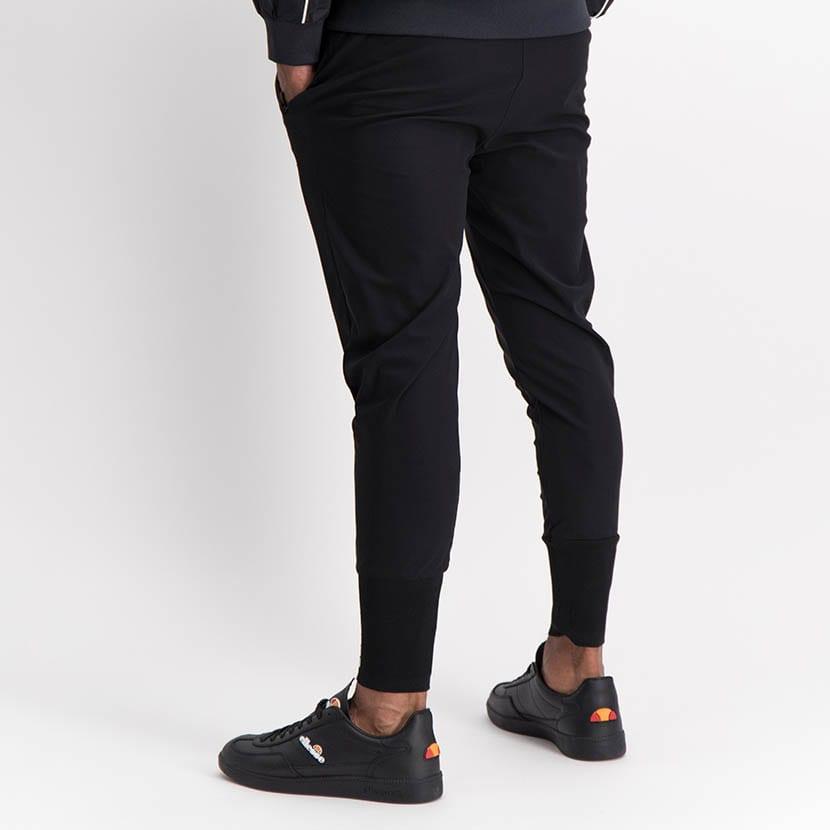 ELL1245B Slim Leg Print Track Pants Black ELW21 155B V4