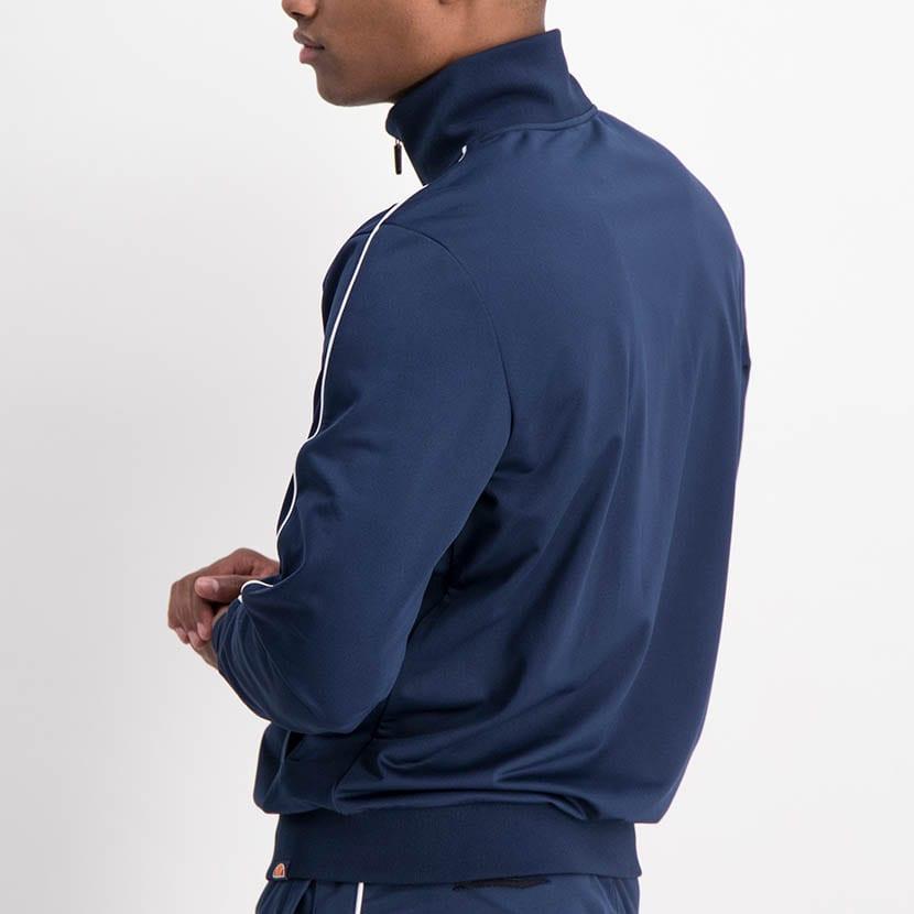 ELL1259DB Piping Detail Track Suit Blue White ELW21 150D V11