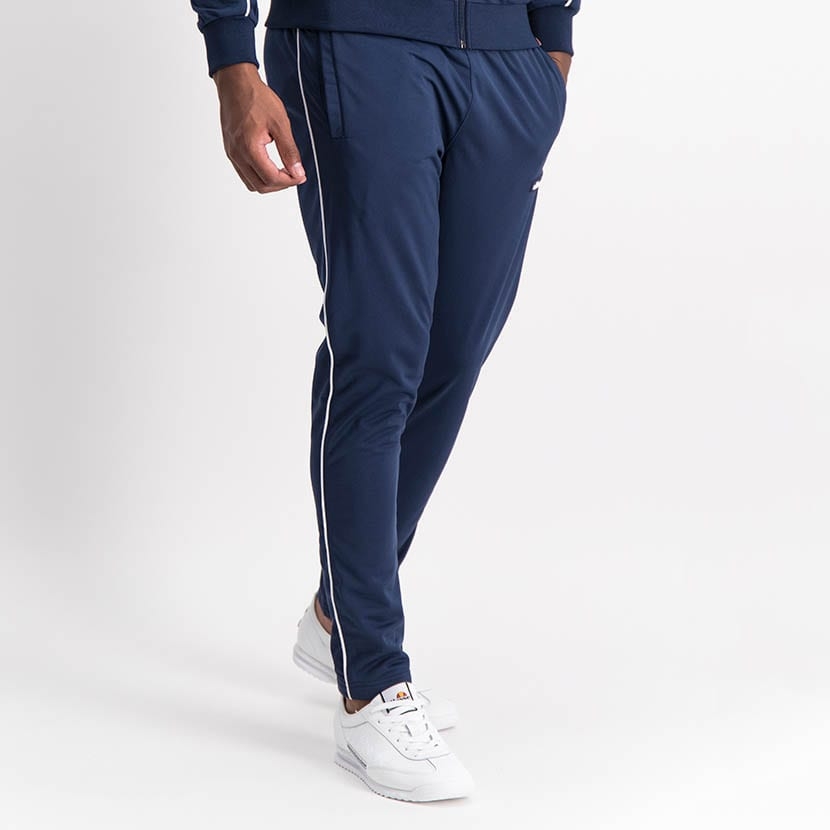 ELL1259DB Piping Detail Track Suit Blue White ELW21 150D V5