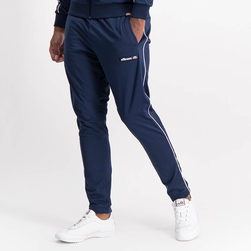ELL1259DB Piping Detail Track Suit Blue White ELW21 150D V6