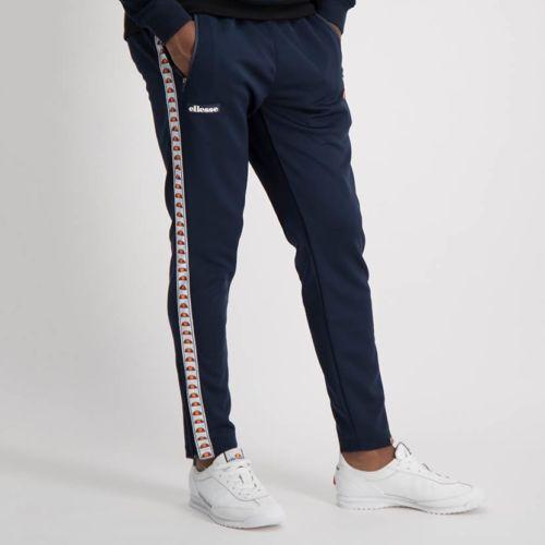 ELL881DB Side Leg Tape Track Pants Blue ELW20 361B V1