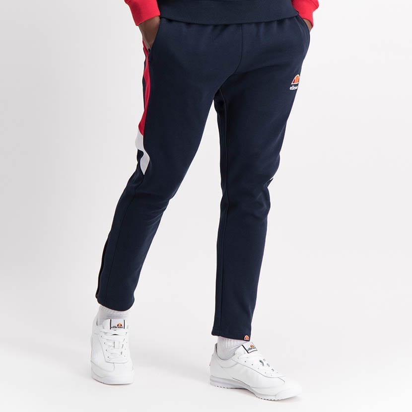 ELL1250DB Leg Panel Track Pants Blue Red White ELW21 022B V2