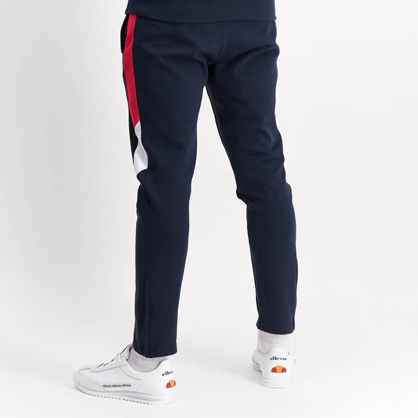 ELL1250DB Leg Panel Track Pants Blue Red White ELW21 022B V3