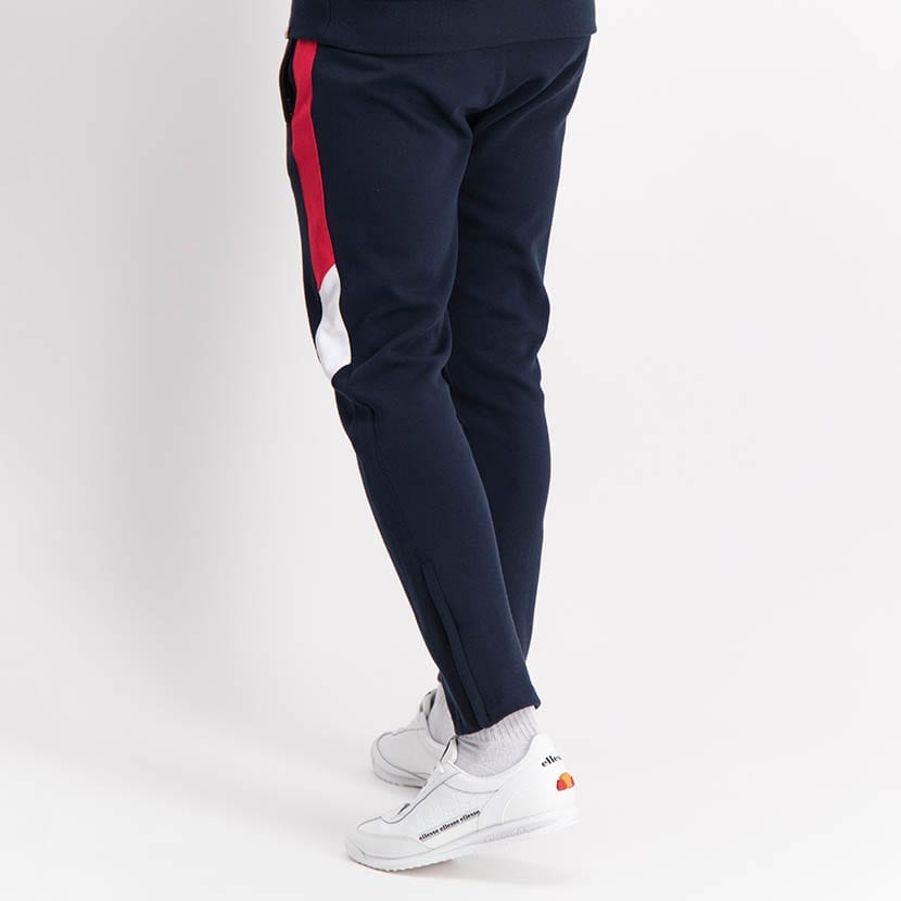 ELL1250DB Leg Panel Track Pants Blue Red White ELW21 022B V4