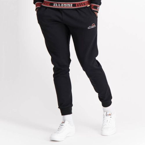ELL1254B Core Ess Emb Sweat Pants Black ELW21 035B V1