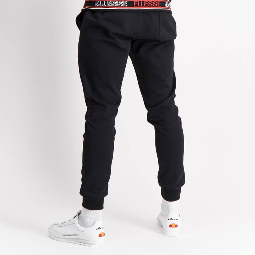 ELL1254B Core Ess Emb Sweat Pants Black ELW21 035B V4