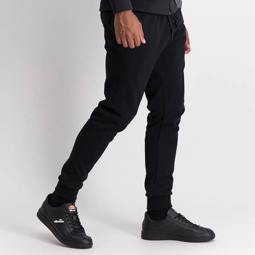 ELL880B Core Ess Applique Sweat Pants Black ELW20 007B V2